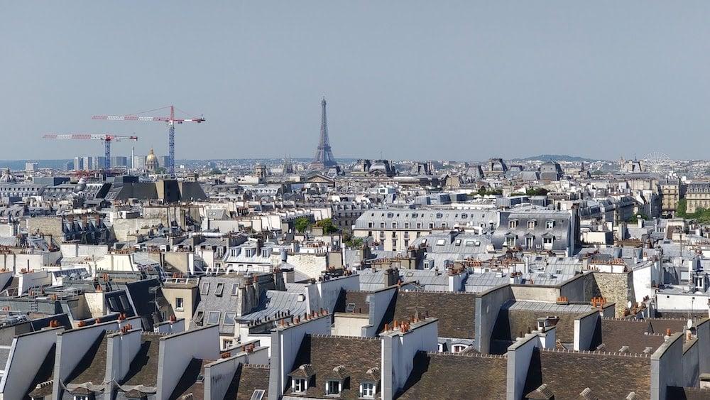 Неймовірна панорама Парижу