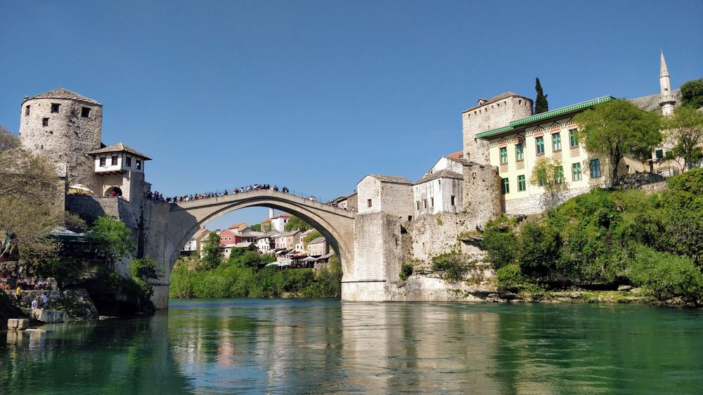 Саме той міст в Мостарі