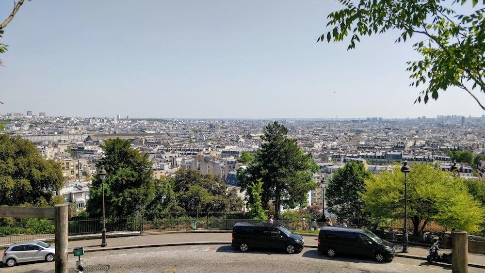 Вигляд на Париж з Монмартру