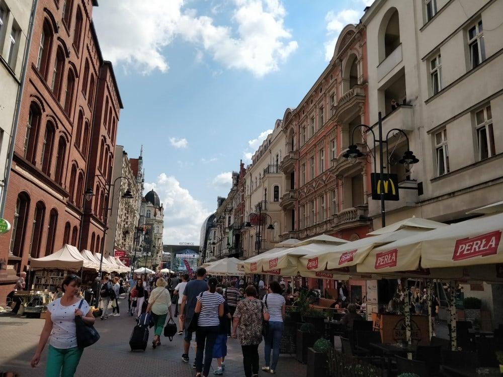 Центральна пішохідна вулиця Катовіце